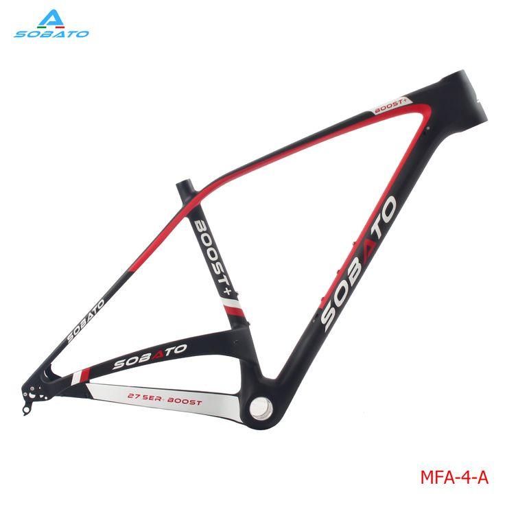 SOBATO popular carbon bike frame 27.5er Plus bicycle carbon frame mtb carbon frame 29er /29+
