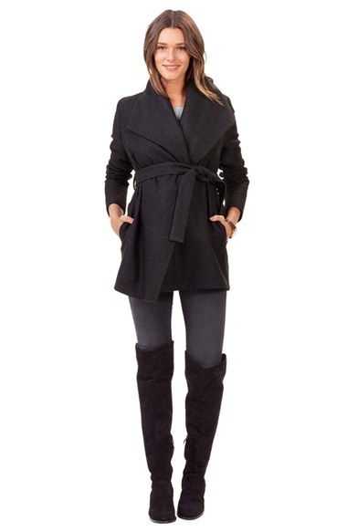 Isabella Oliver 'Melrose' Wrap Maternity Coat available at #Nordstrom - $299
