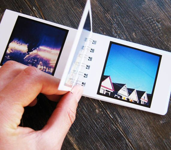 Takes your Instagram pics and makes them into little picture books. $12 for two. Is it bad I want one of these??