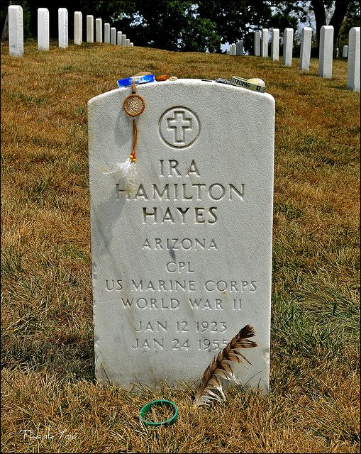 Ira Hayes, Arlington National Cemetery (Native-American Hero) | Flickr - Photo Sharing!