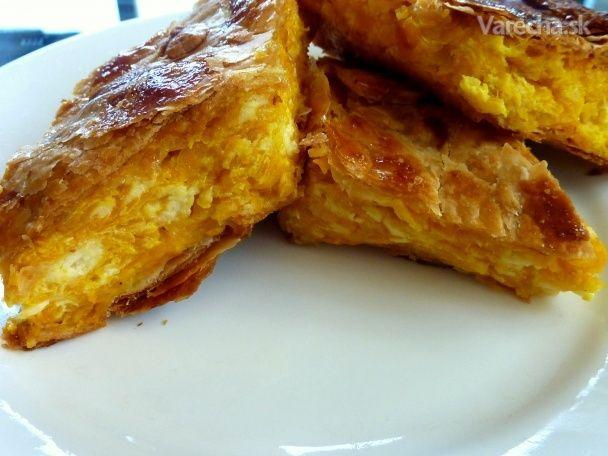 Grecky slaný koláč z tekvice - Recept