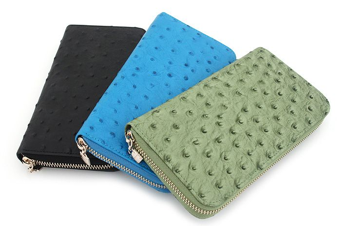 [Rora-zipper wallet]