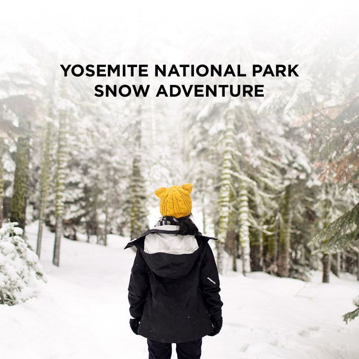 Experiencing a magical Yosemite winter! See more photos and tips for your winter visit // localadventurer.com