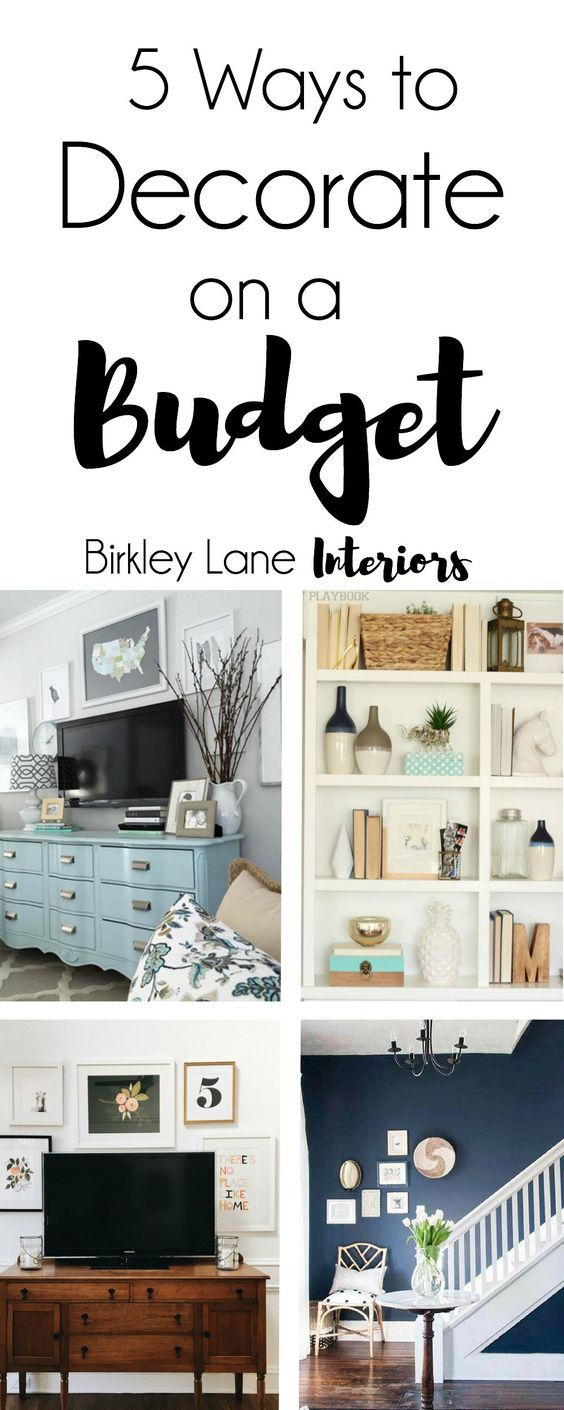 5 ways to decorate on a budget sala de estar y sal n. Black Bedroom Furniture Sets. Home Design Ideas