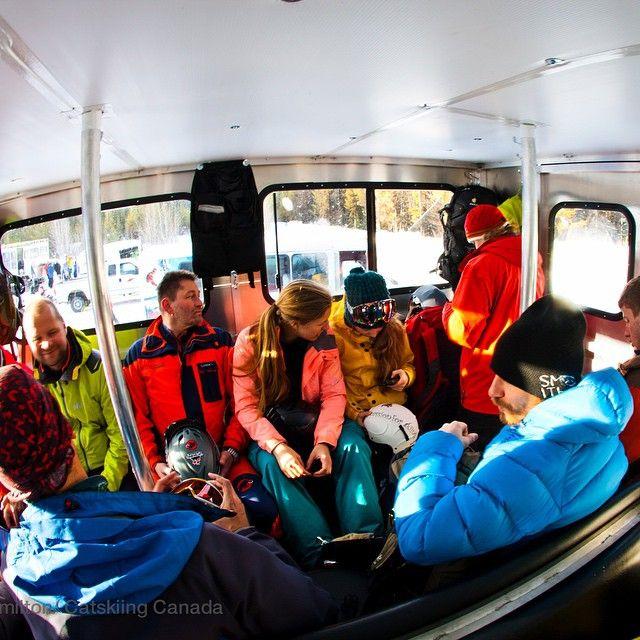 The @BigRedCats powder limo #Catskiing  @khphotograph @catskiing #catskiingcanada #catski #skiing #ski #backcountryskiing #dkibc #explorebc