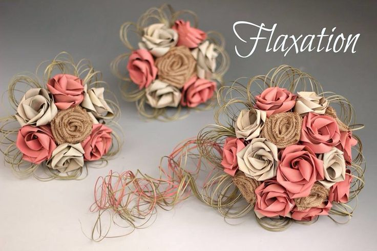 Country flax bouquets by Flaxation. www.flaxation.co.nz