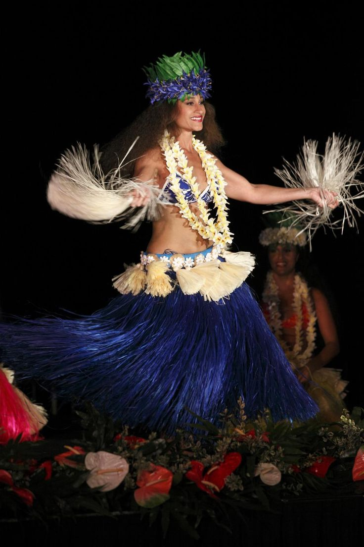 Aha Aina Luau at the Royal Hawaiian hotel ~ Tahitian dance