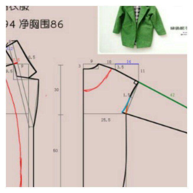 Элементарная выкройка пальто (очень простая!) / Простые выкройки / ВТОРАЯ УЛИЦА
