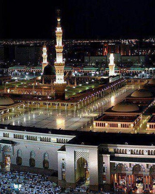 Night View of Madina Its So0o Lovely