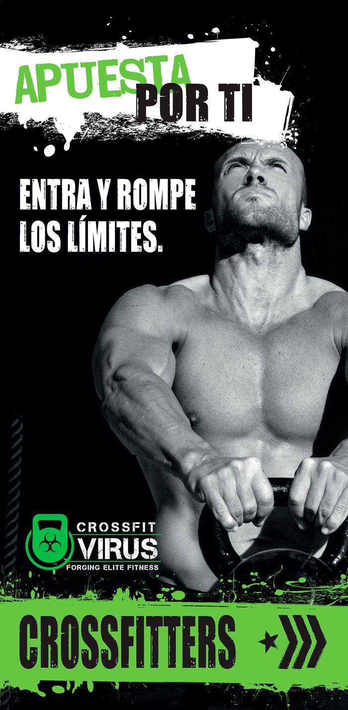 Posters para gimnasio Crossfit. Eugenia Parra.  http://www.eugeniaparra.es