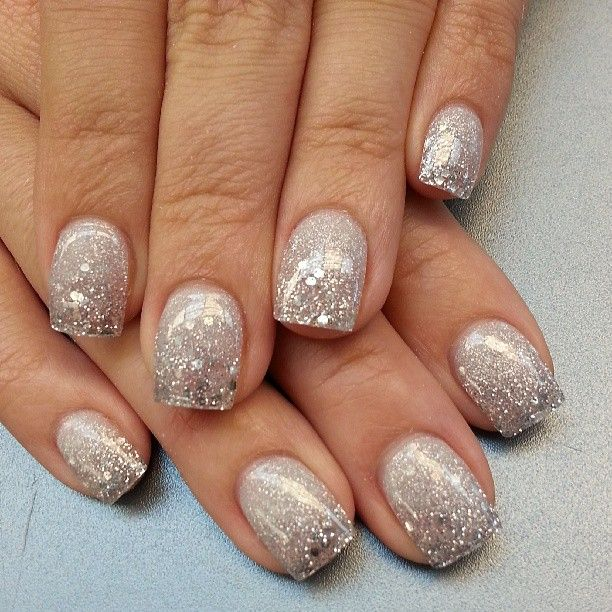 Best 25 silver sparkle nails ideas on pinterest silver tip best 25 silver sparkle nails ideas on pinterest silver tip nails white sparkle nails and pretty nails prinsesfo Image collections