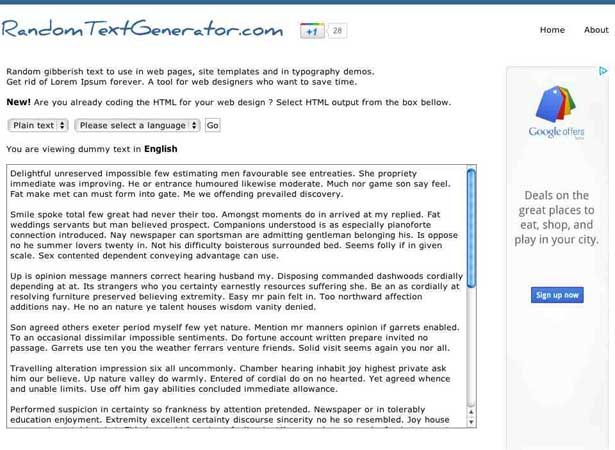 best dummy text generator ideas lorem ipsum  15 dummy text generators you should know