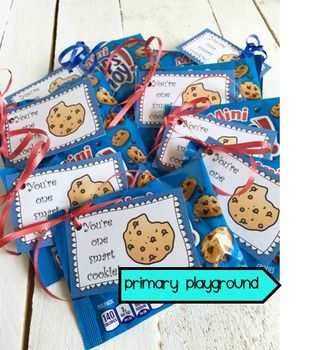 You're One Smart Cookie Free Printable Tag