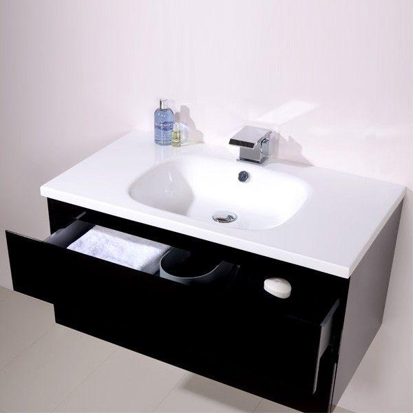 Photo Album Gallery Barcelona Black Vanity Unit Black And White Bathroom Ideas Black And White Vanity