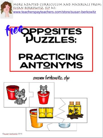 16 best synonim images on pinterest puzzle puzzles and riddles free opposite puzzles and free synonyms matching game provide some no cost fun in speech m4hsunfo