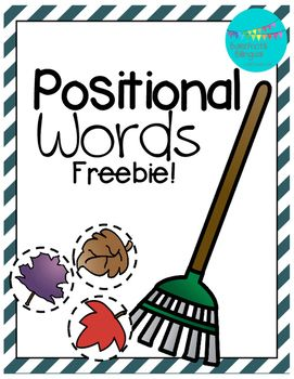 Enjoy this fall freebie and help your kiddos tackle those positional words! Included is a list in both Spanish and English positional words.