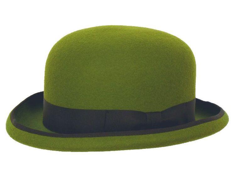 Dieser schöne Hut gibt's bei HutHaus.ch in etwas weniger auffälligen Schwarz. http://huthaus.ch/zylinder/314-bowler-connor-mayser.html