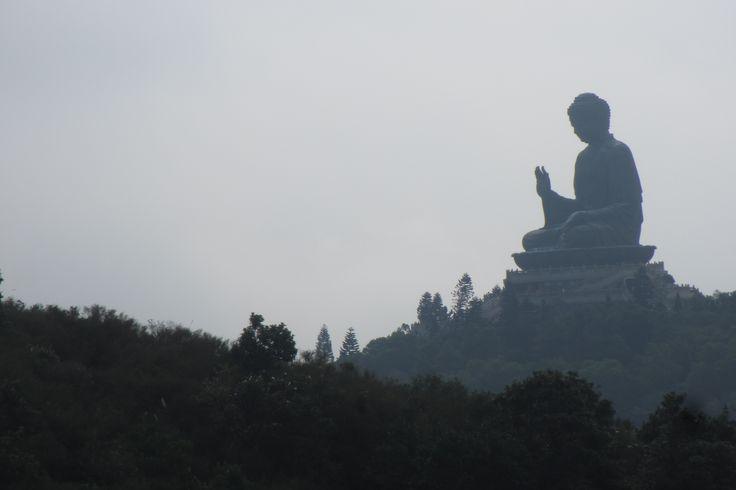 Giant Buddha, Ngong Ping, Hong Kong Dec 2015.. it is really BIG.. God is good..