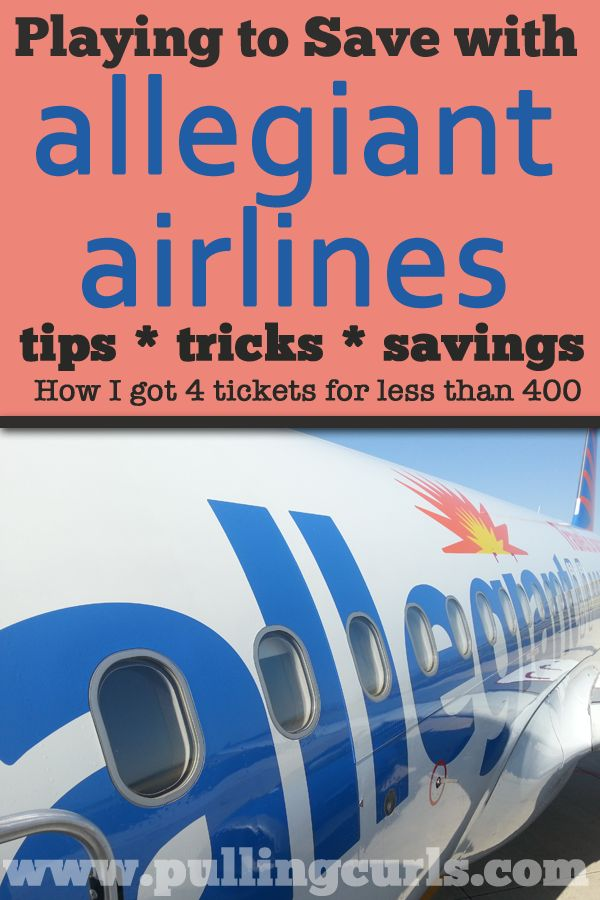 Flying Allegiant is sometimes like playing the shell game.  Here's some tips for keeping your game on when buying and flying Allegiant! #pullingcurls