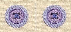 Monster Factory - Button Eyes design (UTZ1343) from UrbanThreads.com