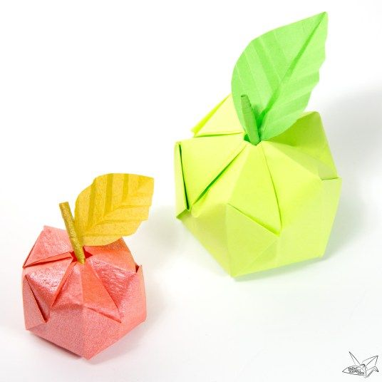 best 25 origami apple ideas on pinterest origami
