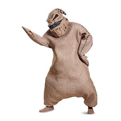Disney Men's Oogie Boogie Prestige Adult Costume - X-Large, Brown