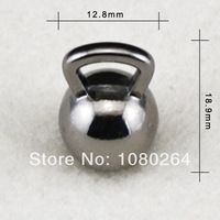 (H106886) ücretsiz nakliye çok alaşım antika gümüş ya da silah siyah su ısıtıcısı çan spor takılar kaplama 50pcs