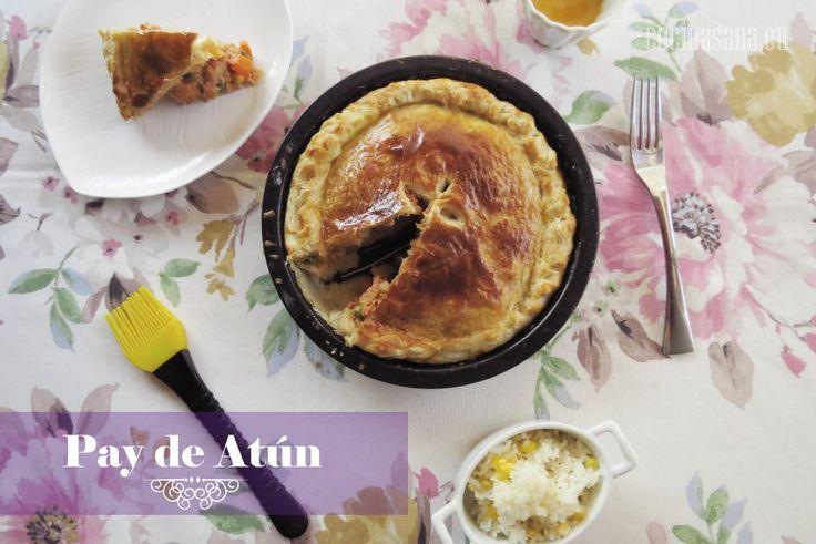 Pay de Atún en Hojaldre: Receta de Cuaresma on Cocina Sana