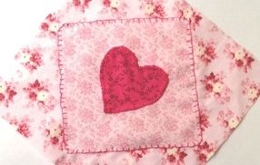 THE HEN HATCH WORKSHOP - Keepsake Quilt (for the bride-to-be).  Each guest can embellish a quilt patch to be taken away by the hen hatch host and sewn into a small quilt for the bride-to-be or her future little one.