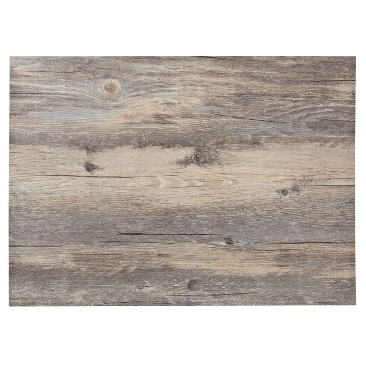 wood effect placemat