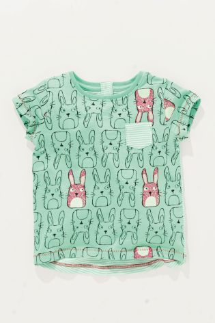 64.- Buy Mint Bunny T-Shirt (3mths-6yrs) online today at Next: Croatia