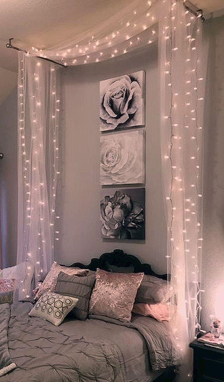 30 schöne DIY Schlafzimmer Lichterketten fantastisch 30