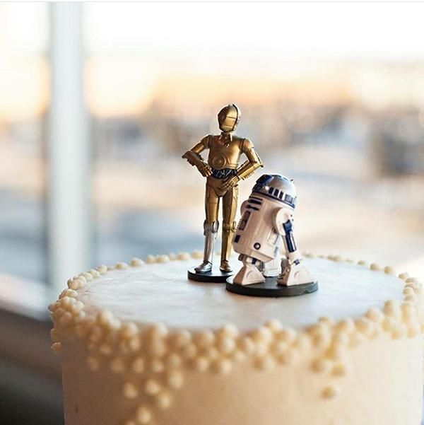 r2d2 and bb8 wedding cake topper 1000 ideas about wars cake toppers on 18949