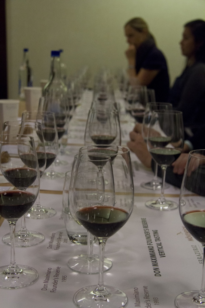 Vertical Tasting of Don Maximiano