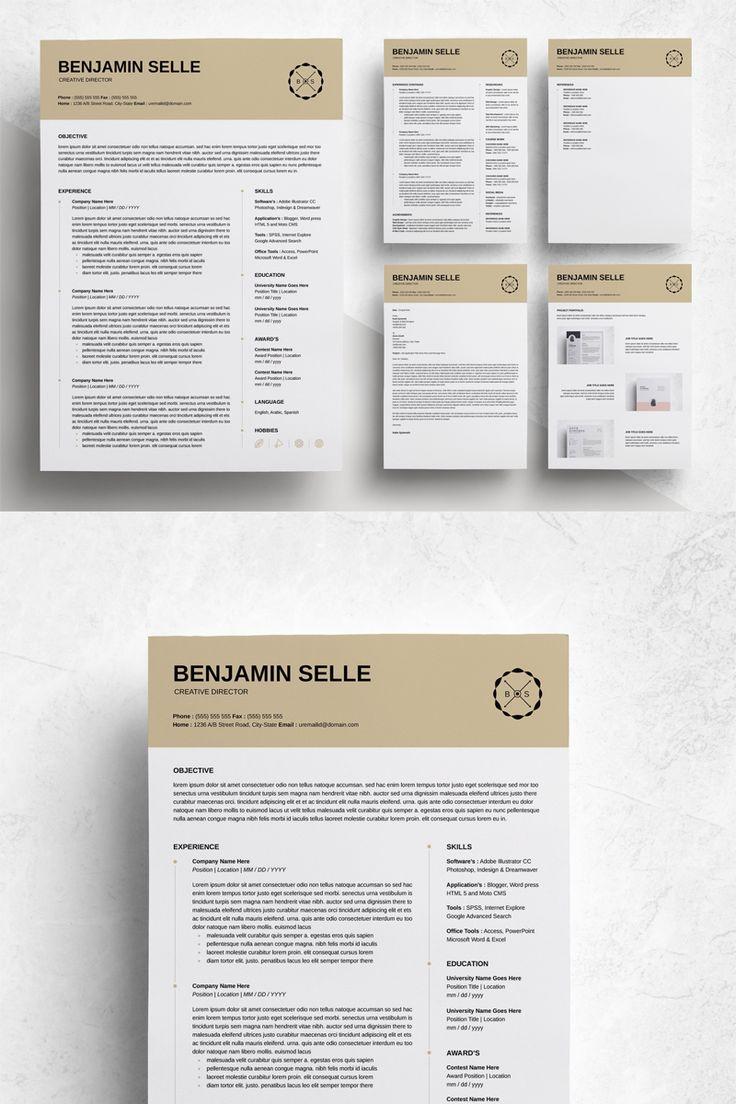 Benjamin Selle Professional & Modern Resume Template