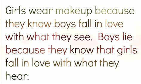 Girls Life Quotes makeup