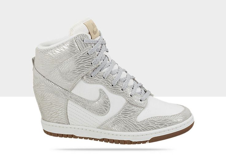Brilliant Nike Dunk Sky Hi Wedge Sneakers In Orange  Lyst