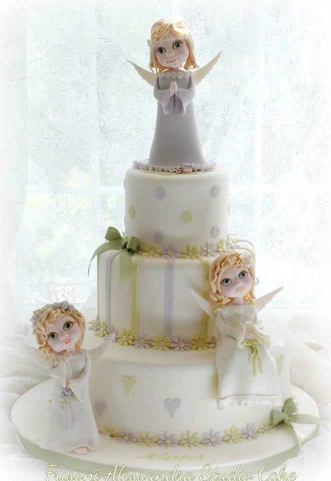 torta prima comunione by Alessandra Frisoni