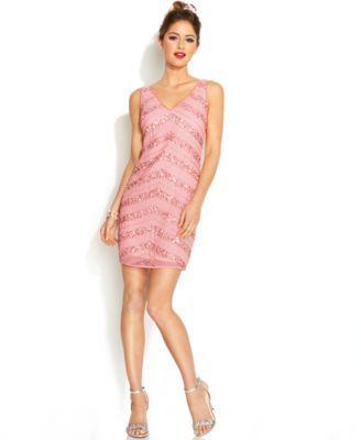 Spaghetti Strap Dress by Hailey Logan Short