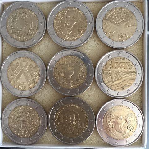 Pieces 2 Euros Commemorative Achat Et Vente Priceminister Rakuten Piece De Monnaie Ancienne Monnaie Ancienne Piece De Monnaie