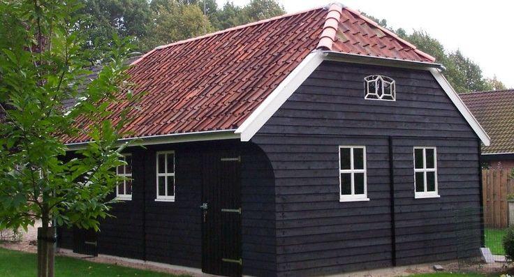 Nostalgische schuur schipper houtbouw houten woningen for Houtskelet schuur