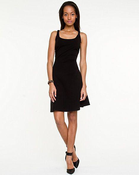 Jersey Scoop Neck Dress $49.95