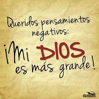 Mi Dios es más Grande!!!
