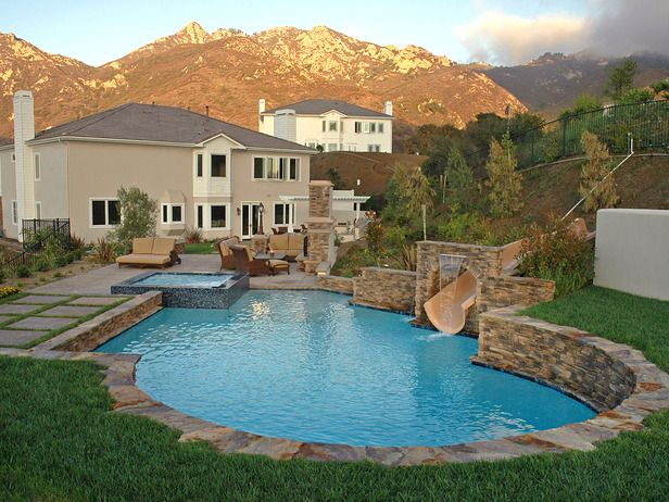 41 best images about pool add ons on pinterest for Better homes and gardens swimming pools