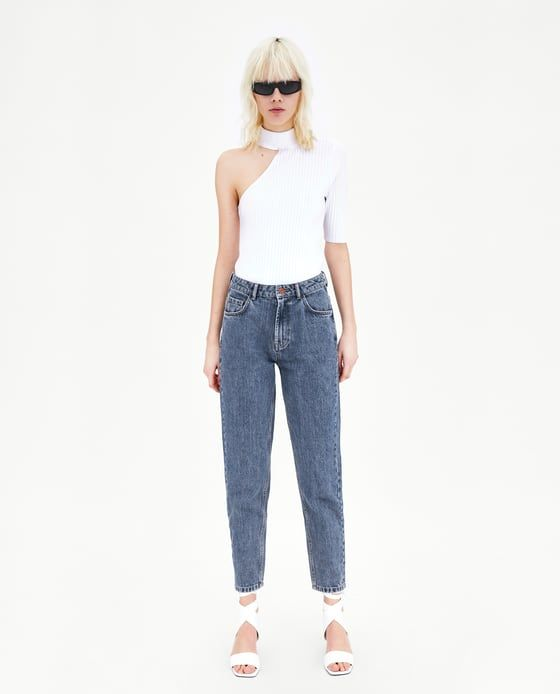 6c034188e6c5 CLASSIC HI - RISE MOM FIT JEANS-View All-JEANS-TRF | ZARA United States