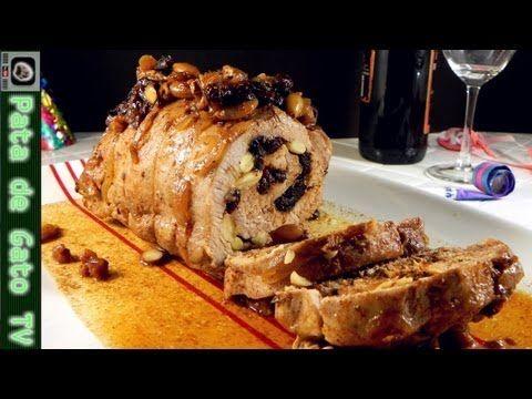 Lomo de Cerdo al Horno con Frutas / Baked Pork Tenderloin with Fruits - YouTube