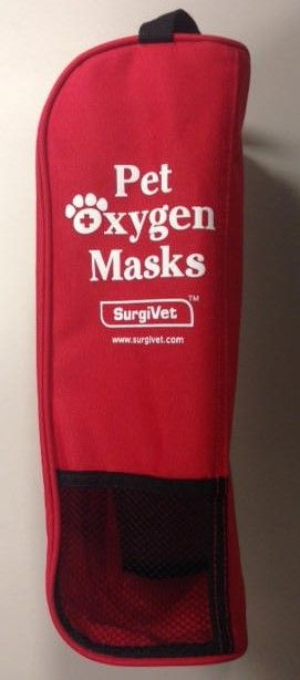 Pet Oxygen Masks For Canine And Feline - Fire Departments, Vets, EMS
