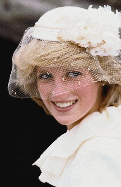 June 19, 1983: Princess Diana being transported by barge to attend a service at All Saints Anglican Church to celebrate the 200th Anniversary of the founding of St. Andrews, New Brunswick. (Day 6)