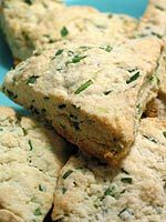 Parmesan Chive Scones add excitement to the bread basket. From @thekitchn