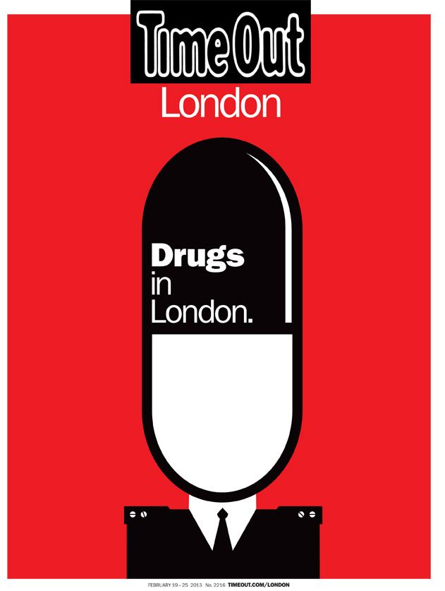 time out magazine london drugs cover red soldier http://now-here-this.timeout.com/2013/02/19/drugs-in-london-who-is-living-the-high-life/